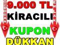 BALGATTA TAKASA AÇIK 9.000 TL KİRACILI MASRAFSIZ KUPON DÜKKAN
